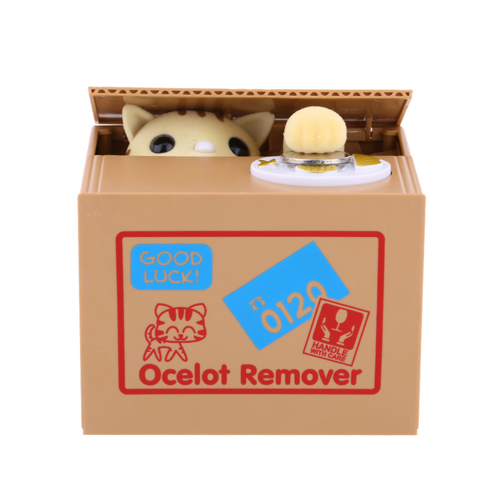 Permalink to Money Box Bank Panda Cat Steal Money Coin Bank Saving Storage Box Pot Case