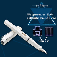 Dazzle Fashion Style Hero Brand Fountain Pen 0 5mm NIB Gift Pen 14 Color Available