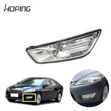Na esperança de Amortecedor Dianteiro Fog Lâmpada Luz de Nevoeiro Para Ford Mondeo 2007 2008 2009 2010 com lâmpadas H11 OE #