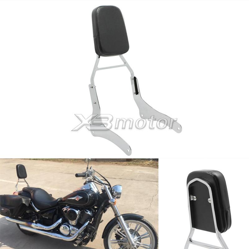 motorcycle high quality chrome bracket backrest sissy bar. Black Bedroom Furniture Sets. Home Design Ideas