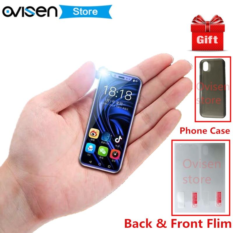 2019 Kleinste Smartphone K-touch I9 16 Gb/32 Gb/64 Gb Rom Android 8.1 Metall Rahmen Cellular Gesicht Id Wifi Hotspot Entsperren Handy Rheuma Lindern