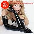 Высокое Качество 3D Плесень Черный Латекс Бесшовные Длинные Перчатки Резиновые Перчатки Оперы Плюс Размер L, XL Горячие Продажа