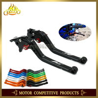 Adjustable Short /Long Brake Clutch Levers Free Shipping Motorcycle Accessories For YAMAHA YZF R1 YZF R1 1998 With LOGO YZFR1