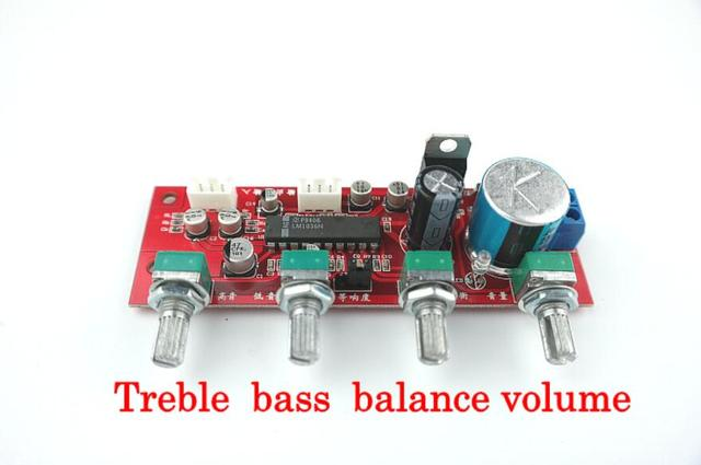 LM1036 tone board With treble bass volume adjustment pre-amplifier Tone Board