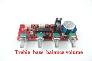 Image 4 - Tablica dźwiękowa LM1036 z regulacją głośności tonów wysokich przedwzmacniacz tablica dźwiękowa