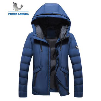 New Winter Jacket Men Clothes Casual Stand Collar Hooded Collar Fashion Winter Coat Men Parka Outerwear Warm Slim fit 4XL