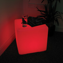 40 cm led night club cube for outdoor party LED cube/LED bar chair/LED bar stool Factory Sale Free Shipping 1pc(China)