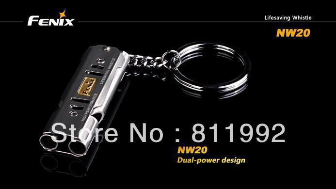 Free shipping Fenix NW20 Lifesaving Whistle NW20