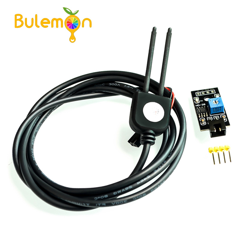 Soil Moisture Sensor and Soil Detector Module Soil Moisture Test Soil Humidity Test Corrosion Resistance Probe For Arduino  - buy with discount