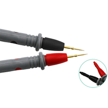 1 Pair 20A Multimeter Needle Tip Meter Multi Tester Lead Probe Cable Wire Pen Universal Test Leads Pin For Digital