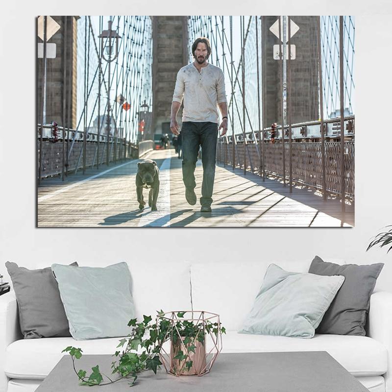 John Wick Movie Keanu Reeves Large Wall Art Poster Print