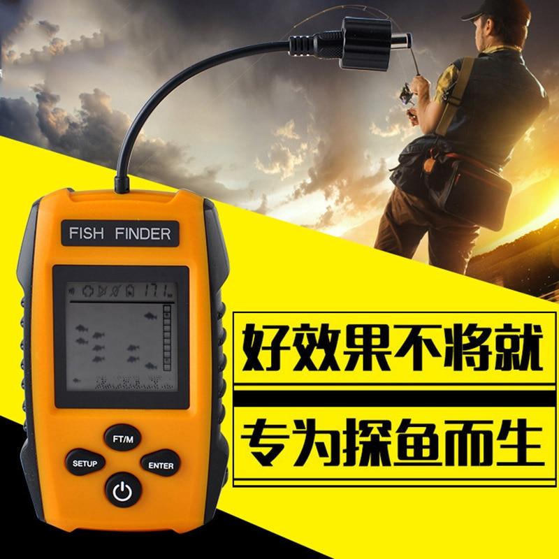 Sensor de Sonar Ecobatímetro Handheld Tela Portátil Handheld