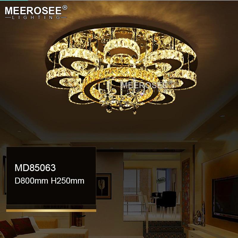 New Arrival LED Crystal Chandelier Light Lustres de cristals Lamp for Living room Diamond Crystal Light Home Dimmable Lighting (1)