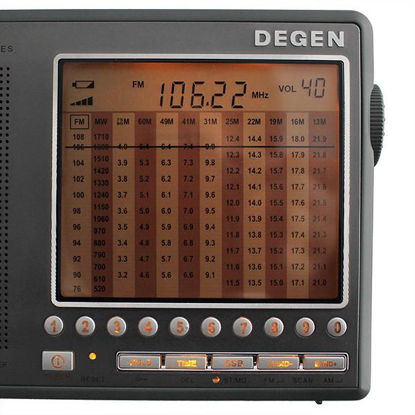 Hot Sale DEGEN DE1103 DSP Radio FM SW MW (9)