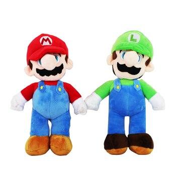 25cm peluches de felpa Super Mario de juguete Mario Luigi muñeca de peluche suave con etiqueta