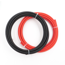 20m 6mm2 10awg Solar Cables,10meters black negative connect 10meters red positive connector extend solar panel series parallel