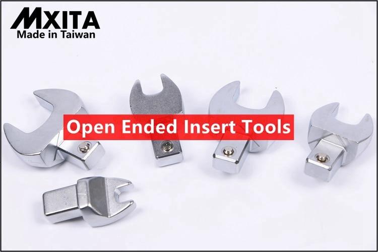 MXITA Herramientas de inserción de extremo abierto Unidad 9X12 Llave - Herramientas manuales - foto 3