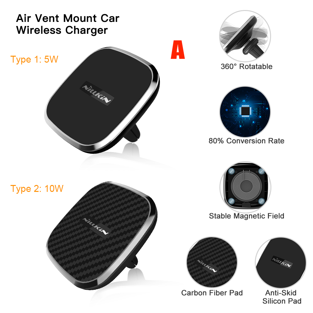 Magnetic Wireless Car Charger (2)