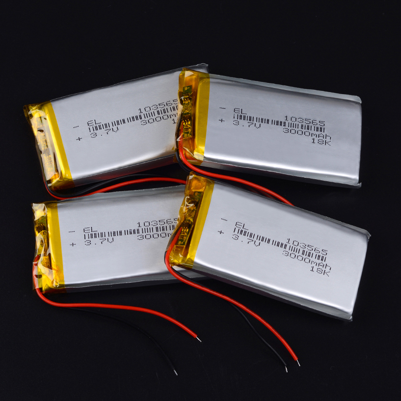 103565 <font><b>3.7v</b></font> <font><b>3000mAh</b></font> li-ion <font><b>Lipo</b></font> cells Lithium Li-Po Polymer Rechargeable <font><b>Battery</b></font> interphone Mobile devices Bluetooth speaker image