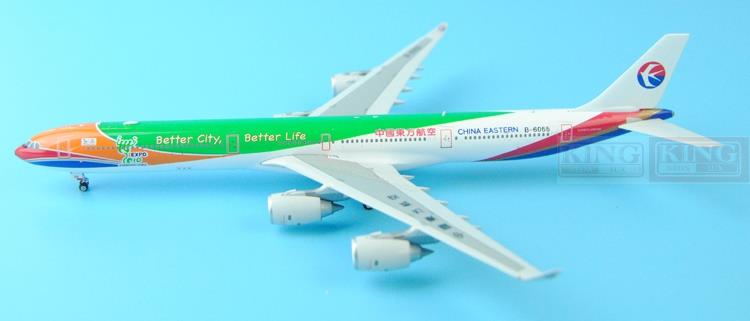 New product: Phoenix 11202 China Eastern Airlines B-6055 A340-600 Expo 1:400 commercial jetliners plane model hobby phoenix 11074 vietnam airlines vh a143 1 400 b777 200er commercial jetliners plane model hobby