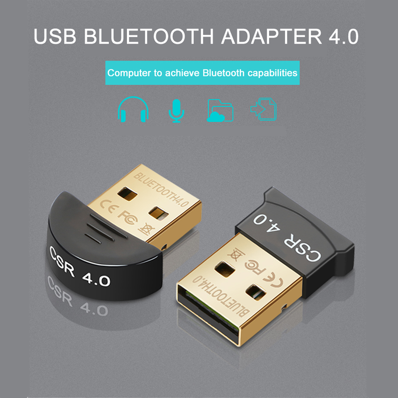 Goldbulous Bluetooth Transmitter for Headphone Speaker PC Car Stereos MP3  MP4 V4 0 Music Sound Receiver Wireless USB Adapter