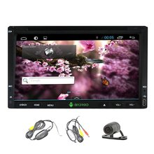"Wireless Camera+Pure Android 4.2 6.2"" HD 2 DIN GPS Navigation Car Stereo DVD CD mp3 Player In Dash Car Radio Audio Video iPod"