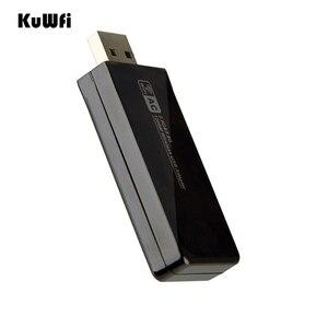 Image 4 - 11AC 1200Mbps USB3.0 무선 어댑터 2.4G/5.8G 듀얼 밴드 USB Wifi 수신기 2T2R 안테나 AP 데스크탑 용 무선 네트워크 카드
