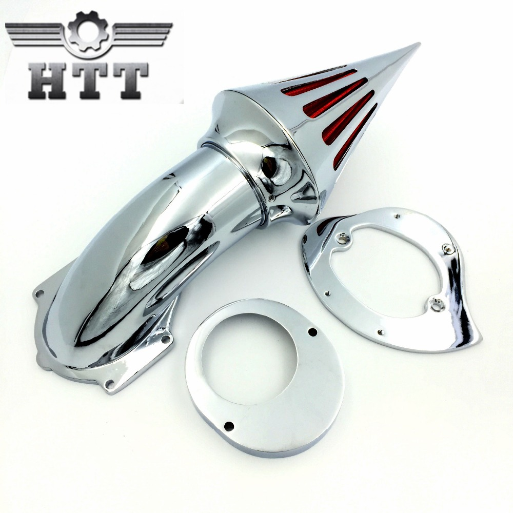 Aftermarket free shipping motorcycle parts Air Cleaner Kits intake filter Yama Vstar V-Star 650 all year 1986-2012 CHROME