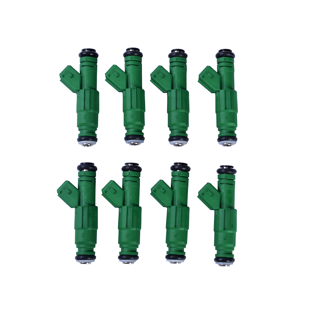 ESPEEDER 8pcs High Flow 440CC Fuel Injector Engine Parts Injection Nozzle Fuel Injector Green Car-styling 2017 new gas fuel saver additives for toyota engine oil injector cleaner car oil fuel additives reduce fuel consumption energy