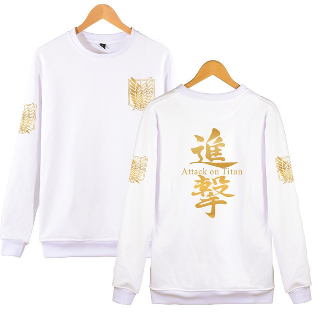 Attack On Titan Sweatshirt Capless Hoodies