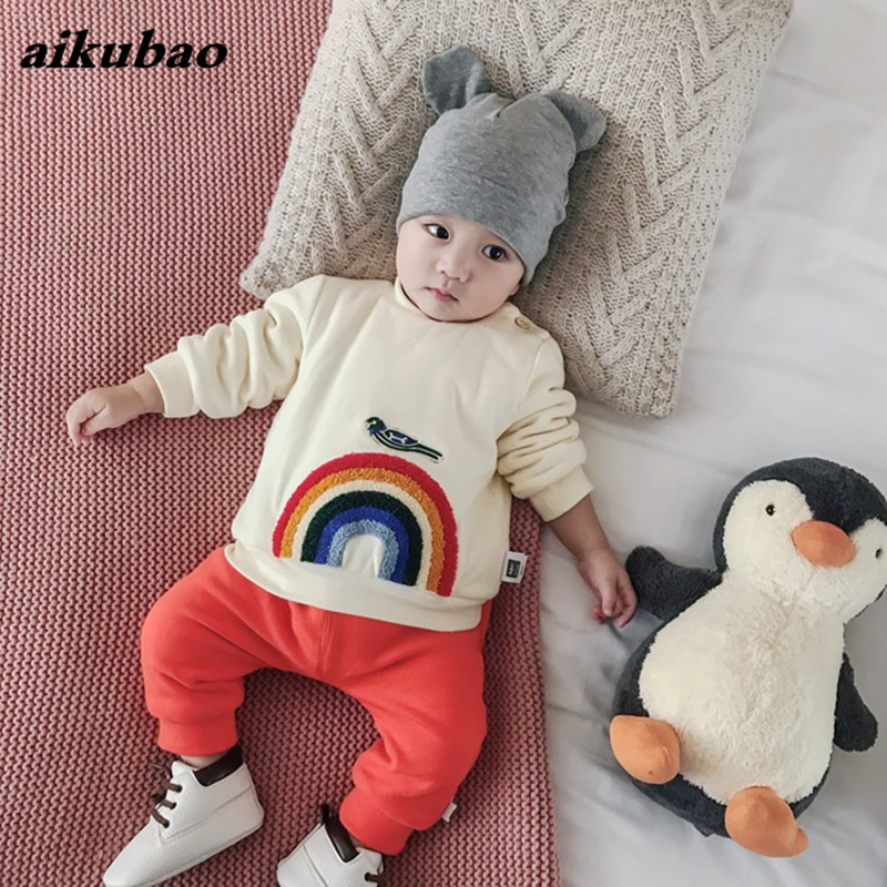 Baby Clothing 2018 New Baby Hoodie Sweatshirs Girl Boy Clothes Infants Coats Outerwear Kids Newborn Clothes