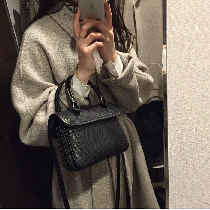 Dell'annata Nero Estate Borsa 2019 Retro Ragazza Carino Tracolla Bag Di Crossbody Ins Nuovo Donne Flap A Totes Modo Borse Piccole rqUFr6w1x7