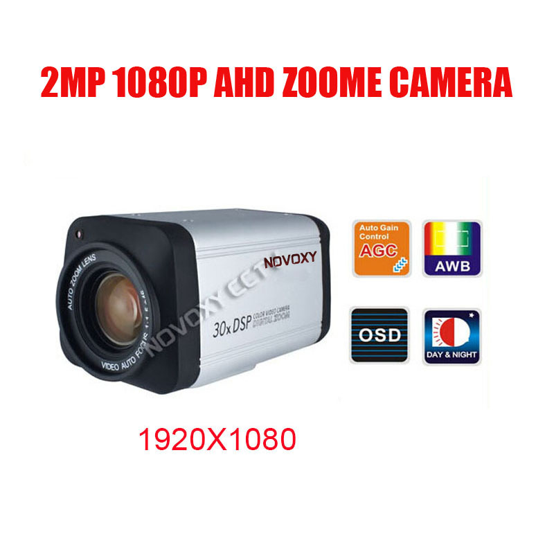 Free Shipping SONY IMX323 2MP 1080P AHD Zoom Camera 30x Optical 3.3-99mm Varifocal Lens IR CUT Zoom Camera Security Camera