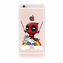 Funny Deadpool Case For iPhone (9 Types)