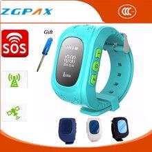Q50 Smartwatch für Kinder Tragbare Geräte Lauf GPS Uhr Kinder Sport Tracker Reloj GPS SIM Cartoon-uhr für Android & IOS