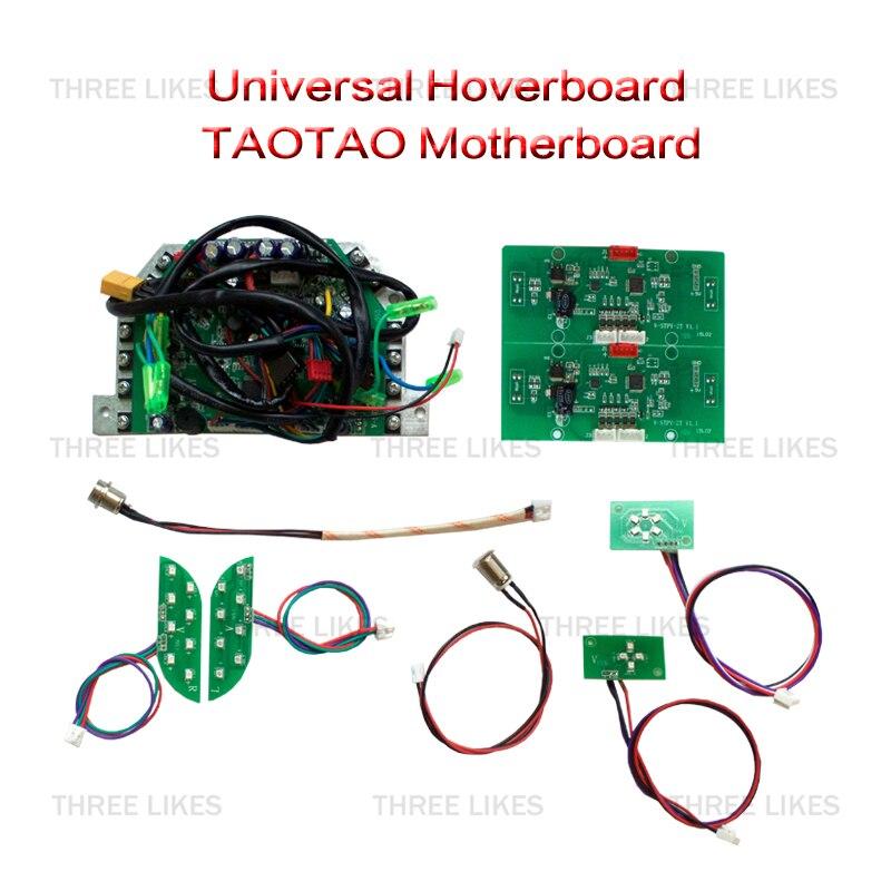 Prix pour En gros 5 Ensembles 2 Roues Auto Équilibrage Scooter Électrique Hoverboard Carte Mère Carte Mère Contrôle Circuit Board PCB de Remplacement des