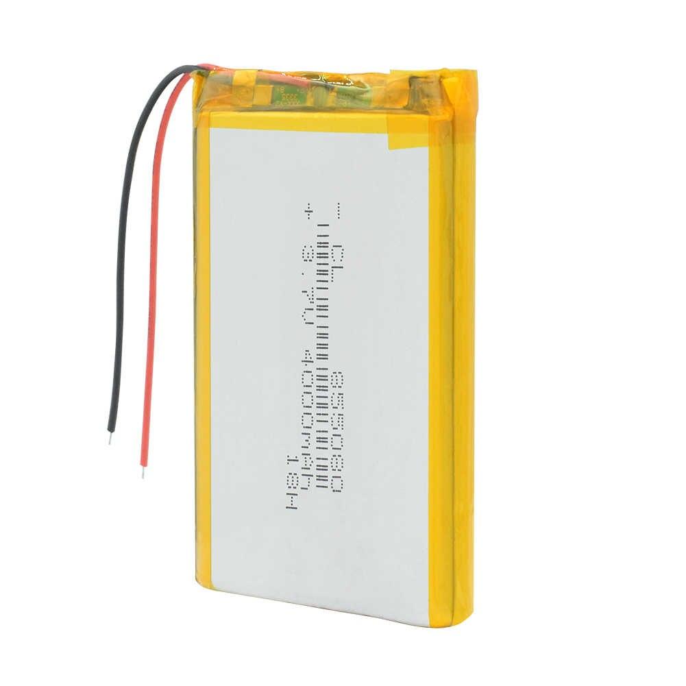 1/2/4 pièces longue durée 3.7 V Volt 4O00mAh Li polymère Lipo batterie Rechargeable Batteris grande capacité 855080 batterie au Lithium