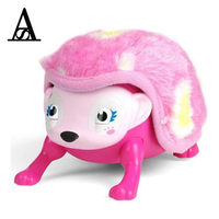 New Interactive Hedgehog Smart Toys Hedgehog Electric Toys Induction Pet with Light and Sound Sensors Children Birthday Gifts