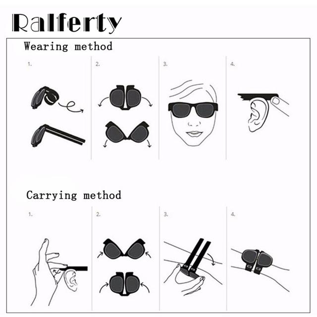 Fashion Slap Foldable Polarized Sunglasses