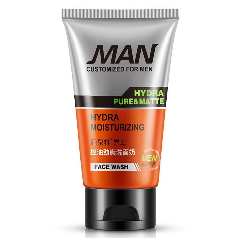 12 pièces BIOAQUA soins du visage hommes nettoyage en profondeur soins de la peau nettoyant Facial hydratant blanchissant acné point noir exfoliant nettoyant
