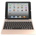 Keyboard aluminum case com 7 cores backlight sem fio bluetooth teclado & power bank para ipad air2 para ipad air 2