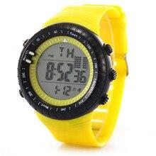 Moda Reloj de Los Hombres LED Digital Fecha de Deporte Militar Reloj de Goma Del Cuarzo de Alarma Impermeable masculino dropshopping envío libre #30