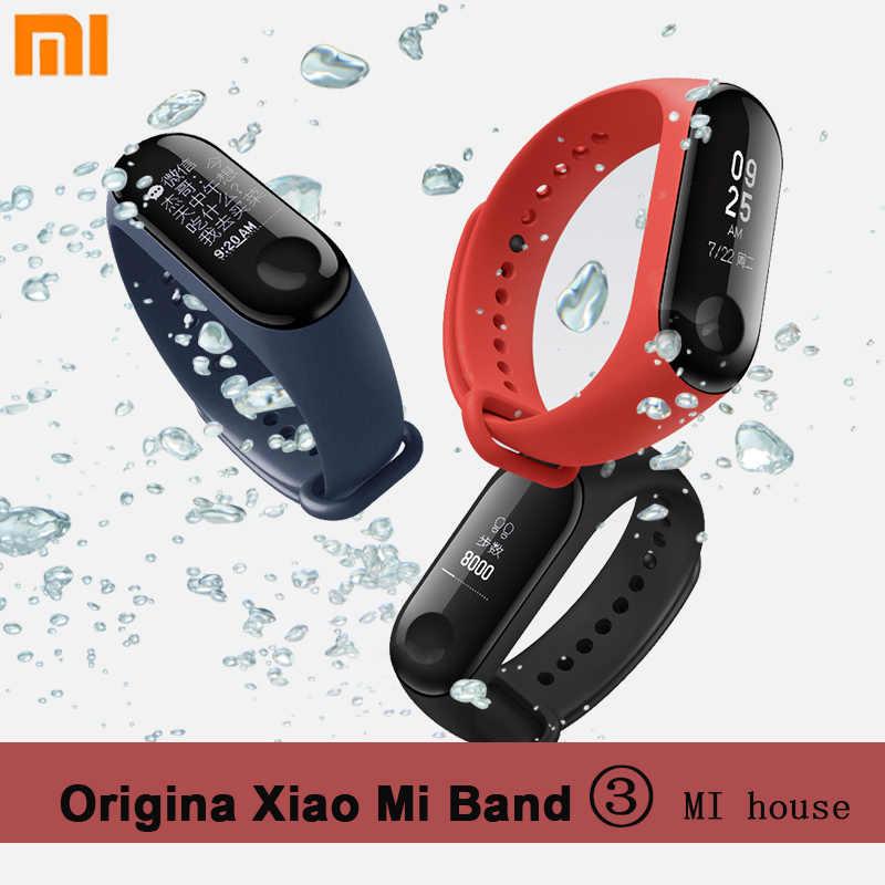 Xiaomi Mi Band 3 Smart Wristband Waterproof Three Generations Sports Bracelet Miband Running Call Pedometer Heart Rate Smartband