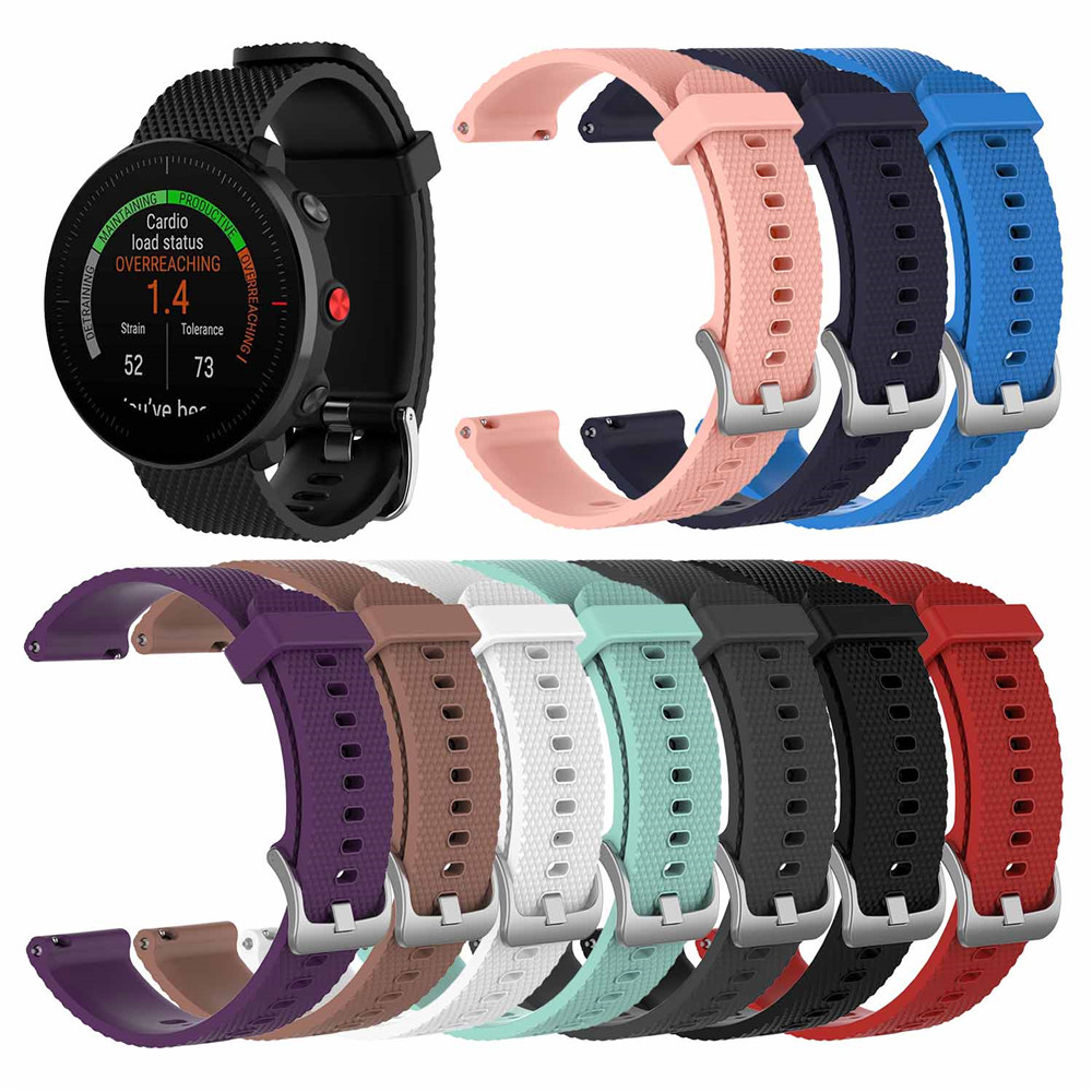Wrist Band Strap For POLAR Vantage M Smartwatch Band Bracelet Wristband Strap Replacement Accessories Soft Silicone Band Unisex