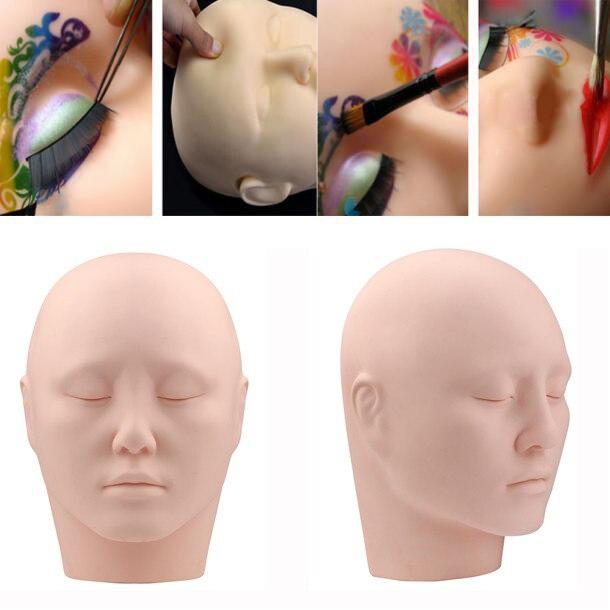 a22d99a98e431 Hot Coreano Rosto Modelo Cabeça de Manequim Cabeça Realista Feminino  Formação Profissional Extensão Dos Cílios Dec.7 em Kits De Tatuagem de  Beleza   Saúde ...
