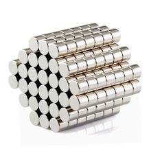 100 шт. Бесплатная доставка диск мини 5×3 мм N50 Редкоземельные сильный неодимовый магнит Bulk Супер магниты N50
