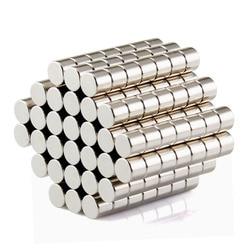 100 stücke Disc Mini 5x3mm N50 Seltene Erden Starke Neodym-magnet Groß Super Magneten N50