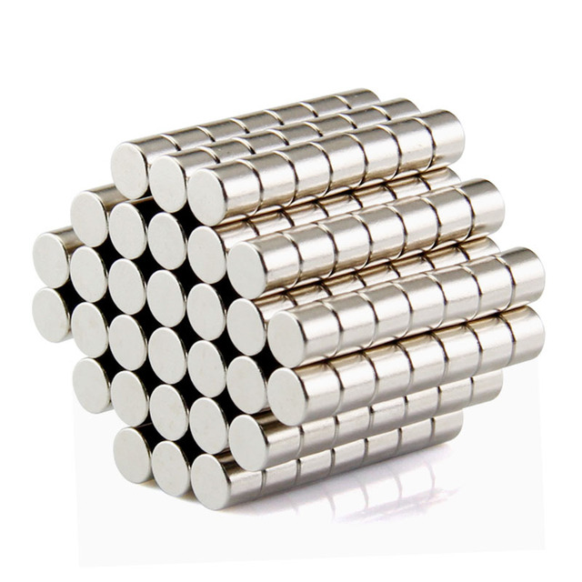 100pcs Disc Mini 5x3mm N50 Rare Earth Strong Neodymium Magnet Bulk Super Magnets N50