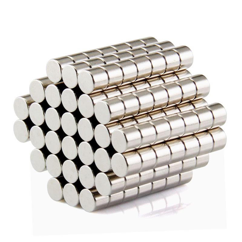 100pcs 6mm x 1mm wholesale strong cylinder rare earth magnet neodymium bulk sheet n50 mini small round magnets disc 2017 100pcs Free Shipping Disc Mini 5x3mm N50 Rare Earth Strong Neodymium Magnet Bulk Super Magnets N50