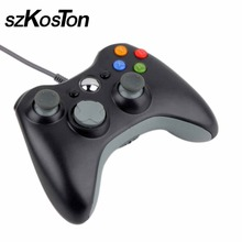 HOT USB Wired Joypad Gamepad  Controller For Xbox 360 Joystick Controller For Official Microsoft PC for Windows 7 / 8 / 10